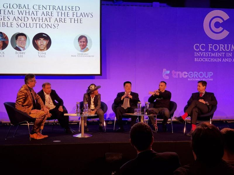 Bobby Lee accuses Nouriel Roubini of avoiding questions during heated debate