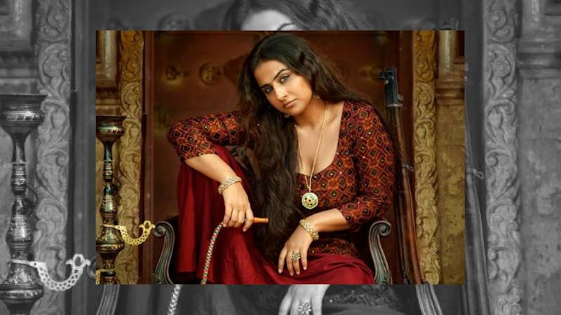 Vidya Balan's Bold First Look in & as 'Begum Jaan'