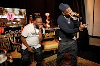 <p>Raekwon and Ghostface Killah gave it their all during their VERZUZ battle in New York City. </p>
