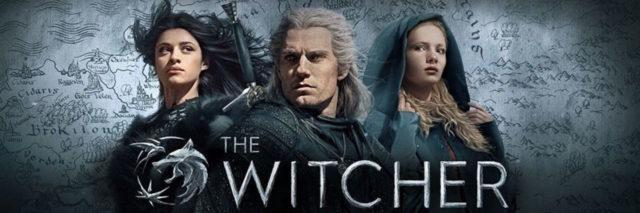 The Witcher Netflix banner