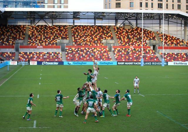 London Irish v Bristol Bears – Gallagher Premiership – Brentford Community Stadium