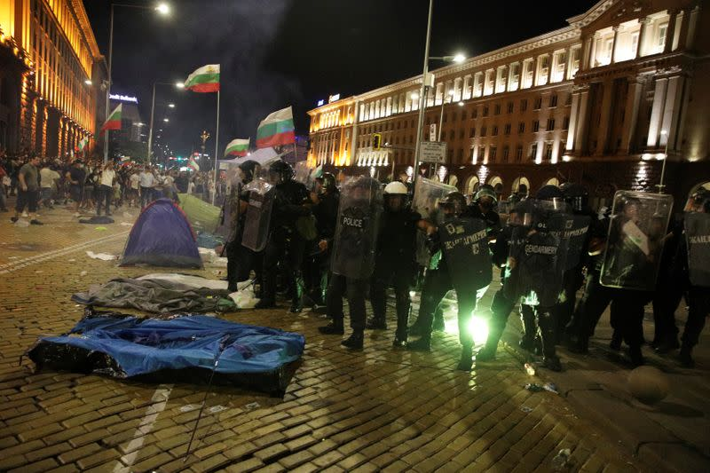 EU executive says of Bulgaria protests: any use of force must be proportionate