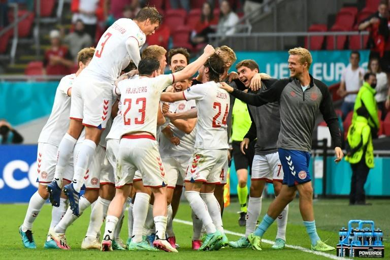 Danes have rallied to the team's togetherness after star midfielder Christian Eriksen collapsed in their first game