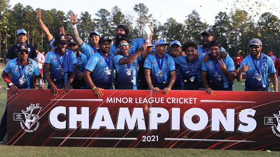 Unmukt Chand creates history, helped Silicon Valley Strikers to clinch Minor League Cricket title