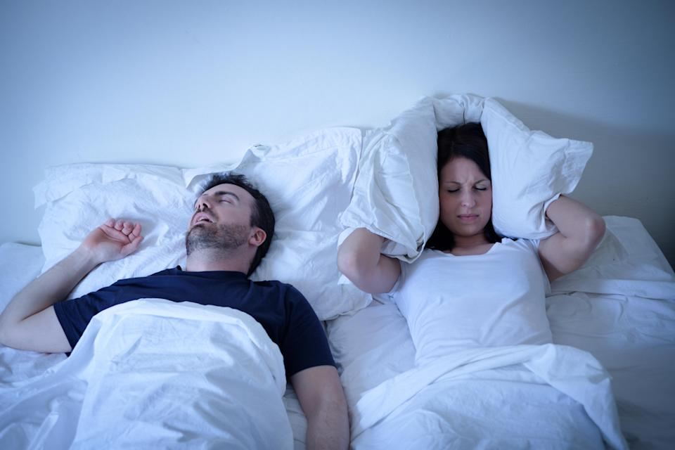 Is your partner's snoring driving you mad? Photo: Getty