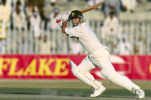 1994:  Gary Kirsten of South Africa batting during the one day international against Australia in Pakistan.                             Mandatory Credit: Shaun Botterill/Allsport UK