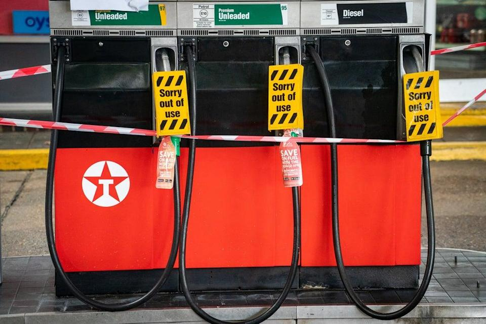 Fuel supplies at petrol stations in London and the South East remain lower than the rest of Britain (Dominic Lipinski/PA) (PA Wire)