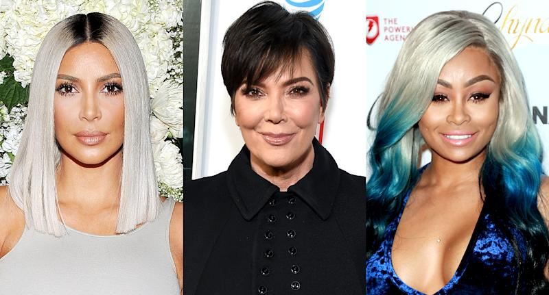 Kim Kardashian, Kris Jenner, and Blac Chyna are embroiled in a lawsuit. (Photo: Getty Images)