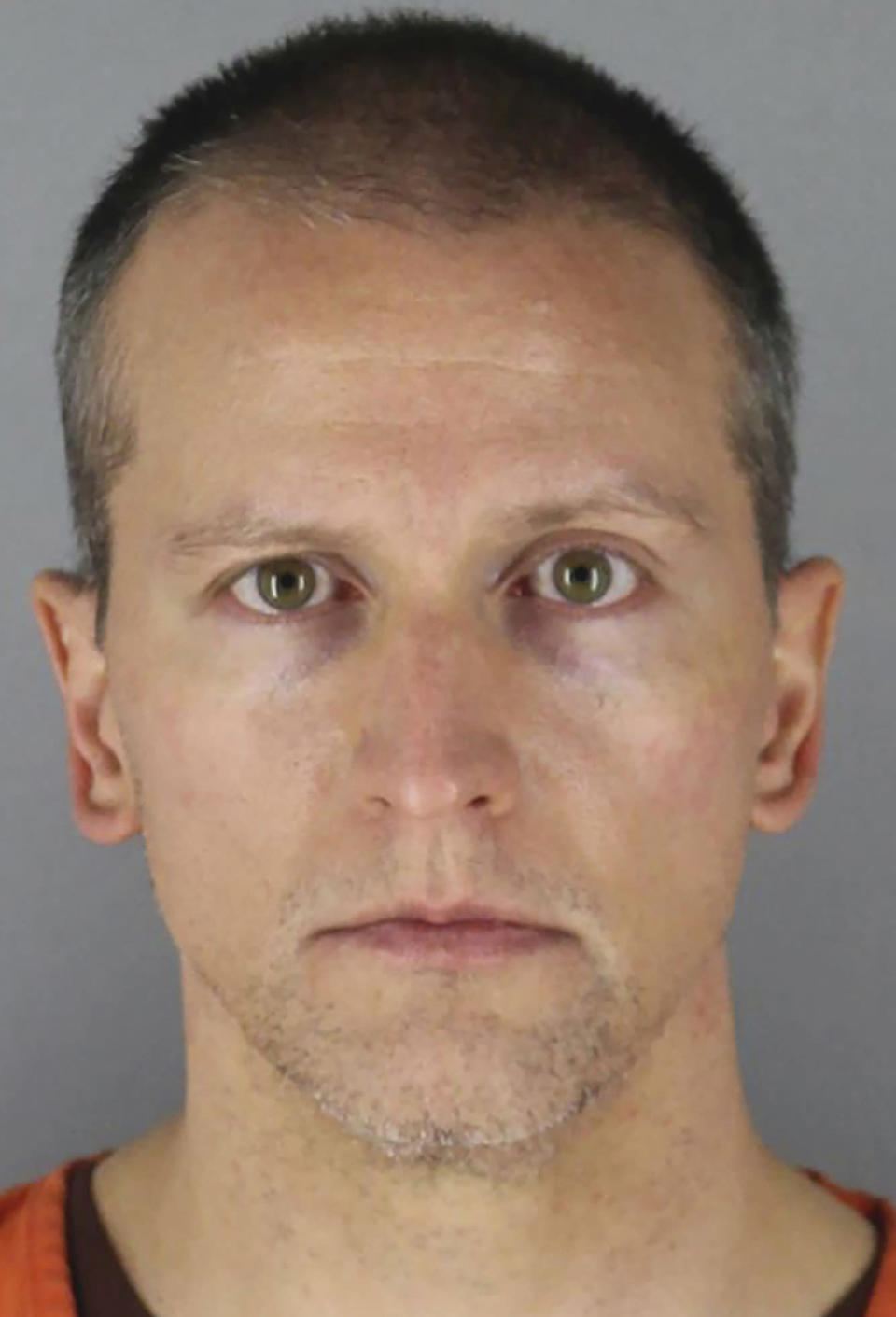 FILE - This undated photo provided by the Hennepin County Sheriff's Office in Minnesota on Wednesday, June 3, 2020, shows, former Minneapolis police officer Derek Chauvin. Chauvin was prepared to plead guilty to third-degree murder in George Floyd's death before then-Attorney General William Barr personally blocked the plea deal last summer, officials said. (Hennepin County Sheriff's Office via AP, File)