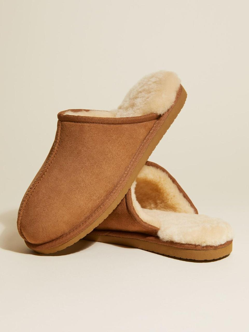 """<p>""""Let's be real: shoes are optional right now. Because I'm not venturing outside anytime soon, I sprung for these insanely cozy, Ugg-inspired <span>Italic Slippers</span> ($45), specially designed with a shearling lining and an EVA sole to keep feet warm in the winter and cool in the summer. Did I mention they feel like I'm walking on actual clouds?"""" - CS</p>"""
