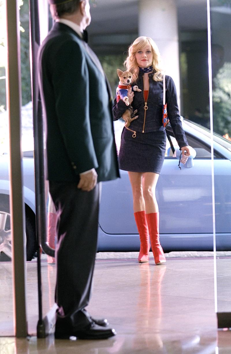 Witherspoon in Legally Blonde 2: Red, White and Blonde