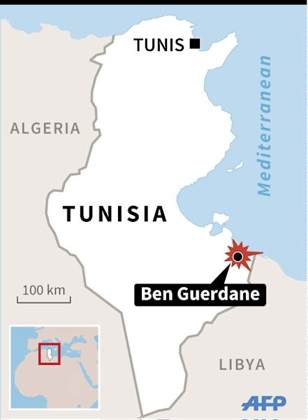 The Tunisian town of Ben Guerdane has a population of 60,000 people who rely on cross-border trade with Libya (AFP Photo/)