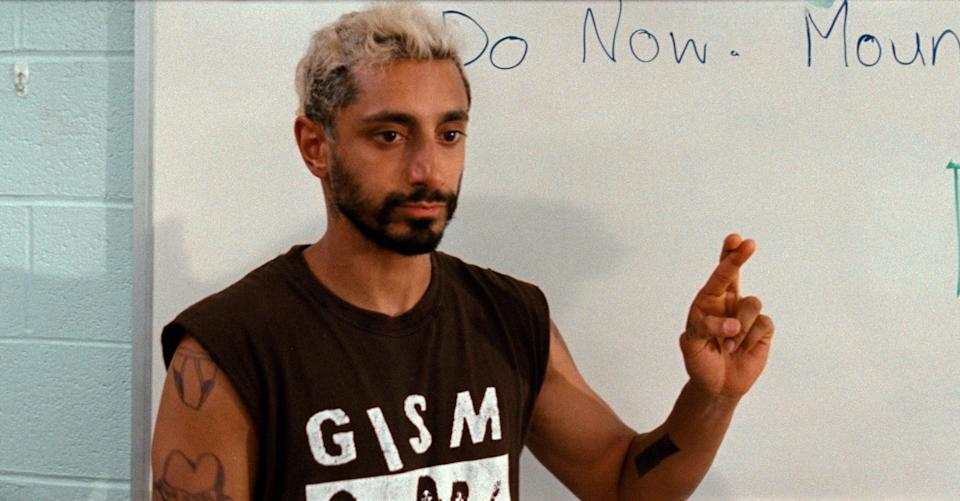 Riz Ahmed in 'Sound of Metal', which was nominated for six OscarsCourtesy of Amazon Studios