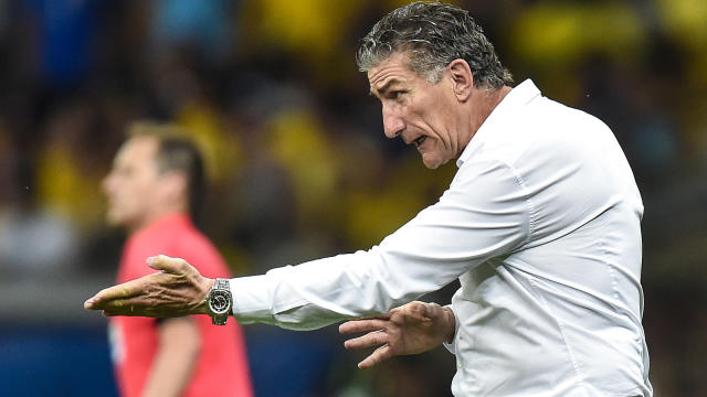 Under-fire with Argentina struggling in World Cup qualifying, coach Edgardo Bauza received some backing on Thursday.