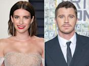 """After Roberts and Evan Peters <a href=""""https://people.com/movies/emma-roberts-evan-peters-call-off-engagement-report/"""" rel=""""nofollow noopener"""" target=""""_blank"""" data-ylk=""""slk:called off their engagement for the second time"""" class=""""link rapid-noclick-resp"""">called off their engagement for the second time</a> after seven years together, talk swirled about a possible romance between Roberts and <em>TRON</em> star Hedlund. The actors made things seemingly more official once they were spotted in N.Y.C. in late March, <a href=""""https://people.com/movies/emma-roberts-holds-hands-garrett-hedlund-after-evan-peters-split/"""" rel=""""nofollow noopener"""" target=""""_blank"""" data-ylk=""""slk:holding hands as they made their way into a hotel"""" class=""""link rapid-noclick-resp"""">holding hands as they made their way into a hotel</a>. Then in April, a source told PEOPLE that Roberts and Hedlund were spending more time together, but taking things slowly. """"Emma is newly single and neither she nor Garrett are in the right headspace to be in a serious relationship,"""" said the source. """"They're just having fun hanging out and hooking up."""" Things must be going well for the new beaus, who also <a href=""""https://people.com/movies/emma-roberts-garrett-hedlund-celebrate-easter/"""" rel=""""nofollow noopener"""" target=""""_blank"""" data-ylk=""""slk:spent Easter 2019 together"""" class=""""link rapid-noclick-resp"""">spent Easter 2019 together</a>, too."""