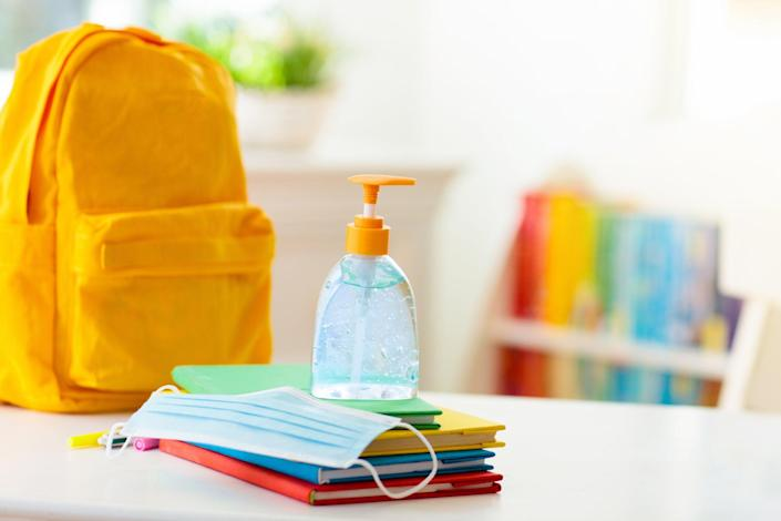 <p>NJ school nurse gets suspended after saying face masks are dangerous for kids</p> (Getty Images/iStockphoto)