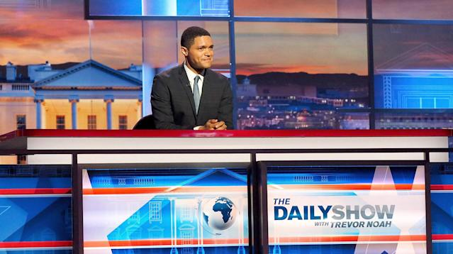 "On Thursday, Comedy Central announced that they would renew Trevor Noah's contract through 2022, keeping the 33-year-old comedian at the helm of ""The Daily Show"" for at least another five years, which includes producer and hosting duties for year-end specials."