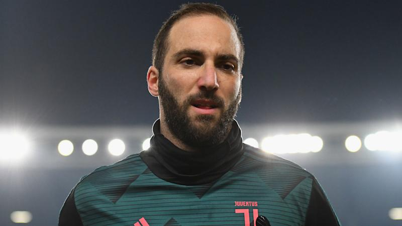 Juventus monitoring Higuain after hamstring strain