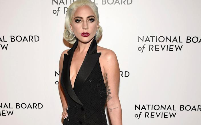 Lady Gaga attends the National Board Of Review awards gala on January 8th - Invision