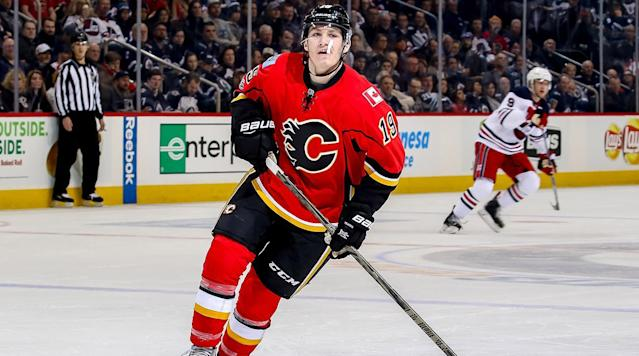 "<p>TORONTO — Early in the afternoon on Monday, Matthew Tkachuk couldn't stop smiling.</p><p>Surrounded by hordes of local hockey writers hours ahead of his first NHL game in Toronto, the 19-year old held his own in a long scrum and did so with a grin on his face. Perhaps it was his play of late that kept him smiling; since Nov. 15, when he returned from a hand injury, the 2016 No. 6 overall pick is third in rookie scoring.</p><p>Or perhaps his smile was one born of familiarity. On Monday night Tkachuk faced off against two old friends, who found out long before the rest of the NHL did what kind of player Tkachuk could be. </p><p>And it just so happens it's those players who occupy the first and second spots in that aforementioned rookie scoring race: Auston Matthews and Mitch Marner.</p><p>Tkachuk spent the 2014–15 season with the U.S. National Under-18 team alongside Matthews before moving to the CHL Memorial Cup-winning London Knights, where he formed an indomitable line with Marner.</p><p>Monday served as a reunion of sorts, with three of the league's most exciting rookies in a dynamic first-year class facing off. The three haven't stopped following each other in their first seasons, and Tkachuk even smiled when thinking of the havoc his former teammate is wreaking upon the NHL.</p><p>""It's fun keeping tabs on him, seeing him on TSN and Sportsnet,"" Tkachuk said of Matthews. ""Every night I look he's doing something special.""</p><p>But according to Marner, who watched Tkachuk score the Memorial Cup-winning goal in overtime less than a year ago, playing against his former teammate isn't exactly ""fun,"" as it were.</p><p>• <a href=""http://www.si.com/nhl/2017/01/20/pavel-buchnevich-new-york-rangers-rookie"" rel=""nofollow noopener"" target=""_blank"" data-ylk=""slk:KLOKE: Rangers' Pavel Buchnevich finding his stride in first NHL season"" class=""link rapid-noclick-resp""><strong>KLOKE: Rangers' Pavel Buchnevich finding his stride in first NHL season</strong></a></p><p>""He's obviously got a lot of skill and he plays hard,"" said Marner. ""He's always in people's faces. When you can do both, it's pretty annoying to play against. It's usually just one of those things ... he does it very well and he's very sneaky with it as well. I think it's just the fact that people just don't like the feeling of him always around them.""</p><p>Marner did well enough around Tkachuk in the first period Monday night, tipping in a Nikita Zaitsev point shot with Tkachuk nearby to open the scoring. Tkachuk would go on to exert his physical presence when he was matched up against Marner on a second-period shift, boxing him out on a faceoff and tangling him up against the boards.</p><p>Tkachuk leads all rookies in penalty minutes (92) and, frankly, it's not even close. He's also second in the league in PIM. But it's the manner in which Tkachuk has so adeptly blended a pesky, physical style of play with an ability to drive the Flames' play (Tkachuk leads the team with a 57.9% Corsi For, per Corsica.hockey) early in his NHL career that's turning heads.</p><p>When drafted, it was obvious from his junior hockey pedigree and his family lineage that Tkachuk could eventually be an impact player in the NHL. But this soon? Even Tkachuk himself couldn't expect to be in this position so early.</p><p>""I didn't know what to expect coming because I'd never played in it before,"" Tkachuk said when asked whether or not he expected to have the kind of impact he's had. ""I guess I'm kind of happy where I'm at right now. I have another gear to go to ... You're just getting your feet wet in the NHL.""</p><p>Tkachuk would go on to give credit to his linemates, Mikael Backlund and Michael Frolik, for his strong play. Putting the team ahead of himself in the company of reporters is just another sign that Tkachuk has quickly acclimatized to the NHL.</p><p>He's looked like the consummate pest through his first 46 games, including getting under the skin of Hart Trophy candidate Brent Burns by stealing his stick earlier in the season.</p><p>""Me, I don't want to go out there and try to say anything to get them off their game,"" Tkachuk said before Monday's game. ""I just want to play the best I can. Our team needs this win pretty bad.""</p><p>But against his old friends and teammates, that win did not come for Tkachuk and the Flames. The Leafs used their now trademark speed to break down the Flames for a 4–0 result as Calgary once again failed to get the early jump it needed. Marner bested Tkachuk with a goal and an assist.</p><p>Tkachuk did his part with two penalty minutes, four shots and three hits. It was certainly more of an impact than he made when the two teams faced off back in November, when Tkachuk registered just one shot and saw a full two minutes less of ice time.</p><p>While the much-needed two points escaped the Flames, there are still many reasons for them to smile. Namely, Tkachuk has shown that just over half a season into what could be a long NHL career, he's already making a name for himself. And when he faces off against Marner and Matthews again next season, you can bet he'll be looking to settle the score.</p>"