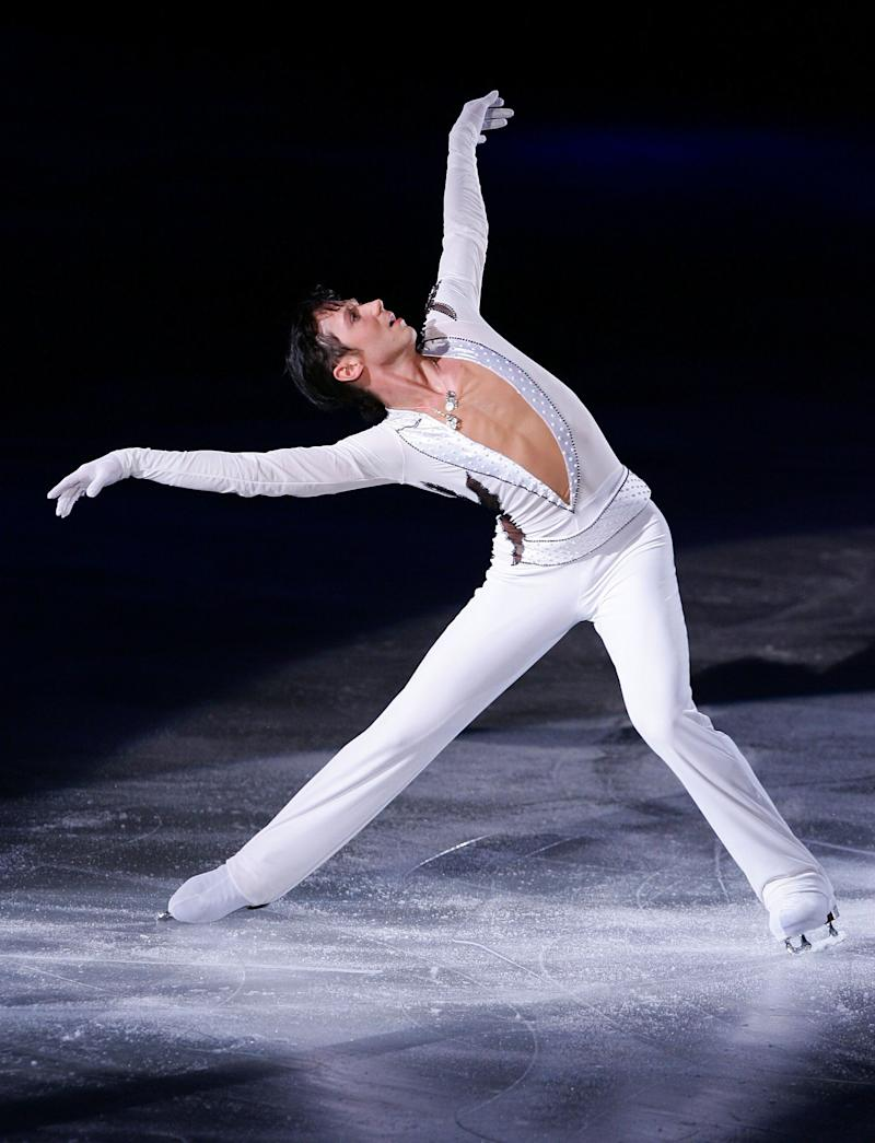Performing during Festa on Ice 2009 at KINTEX on April 24, 2009, in Goyang, South Korea.