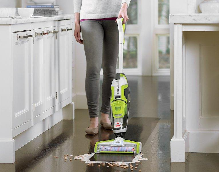 Bissell Crosswave All-in-One Multi-Surface Floor Cleaner. (Photo: QVC)