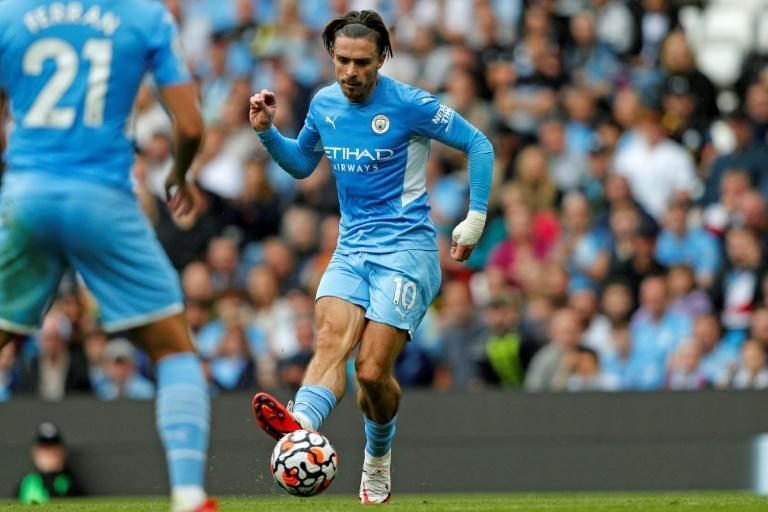 Manchester City's Jack Grealish scored against Norwich