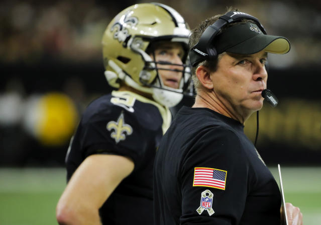 The Saints nearly fell victim to the very rule spawned by last year's pass interference controversy in the NFC championship. (Derick E. Hingle/USA Today)