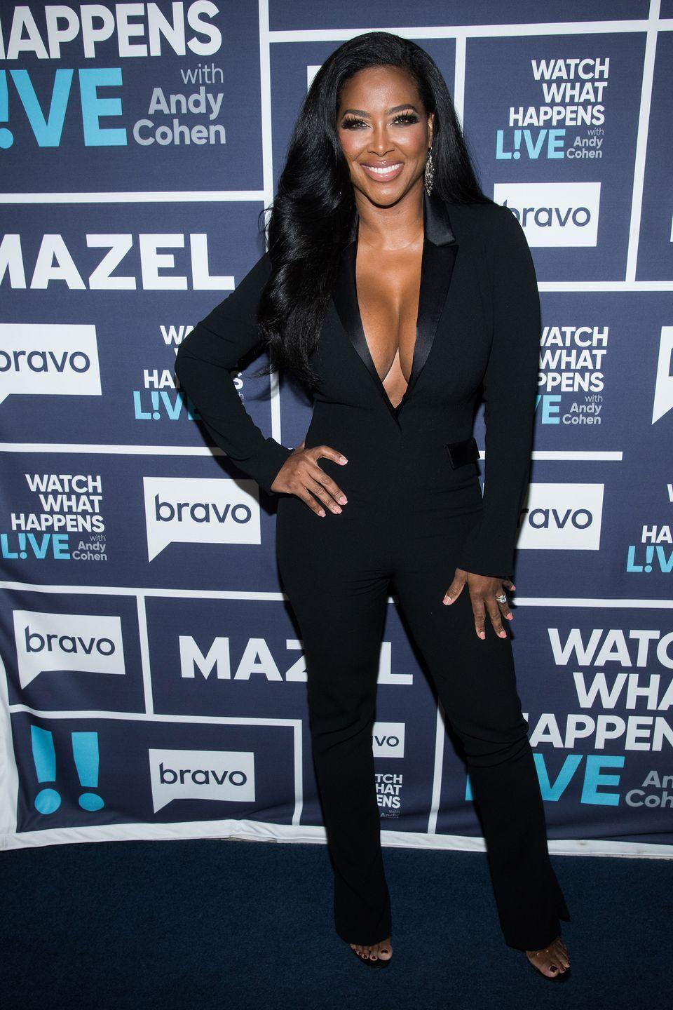 """<p>Former Miss U.S.A. Kenya Moore joined the <em>Atlanta </em>franchise in season 5 and has been a polarizing figure ever since (she was even called out as the """"shade assassin"""" by costar Cynthia Bailey!). Kenya did not appear on season 11 of <em>Atlanta</em> due to a """"messy, lengthy contract negotiation that left her and the network on opposite sides of uncrossable battle lines,"""" <a href=""""https://people.com/tv/kenya-moore-leaving-rhoa/"""" rel=""""nofollow noopener"""" target=""""_blank"""" data-ylk=""""slk:People"""" class=""""link rapid-noclick-resp""""><em>People</em></a> reported. She returned for the most recent season, but it is not yet confirmed if she will maintain her status as a Housewife in the upcoming season 13.</p>"""