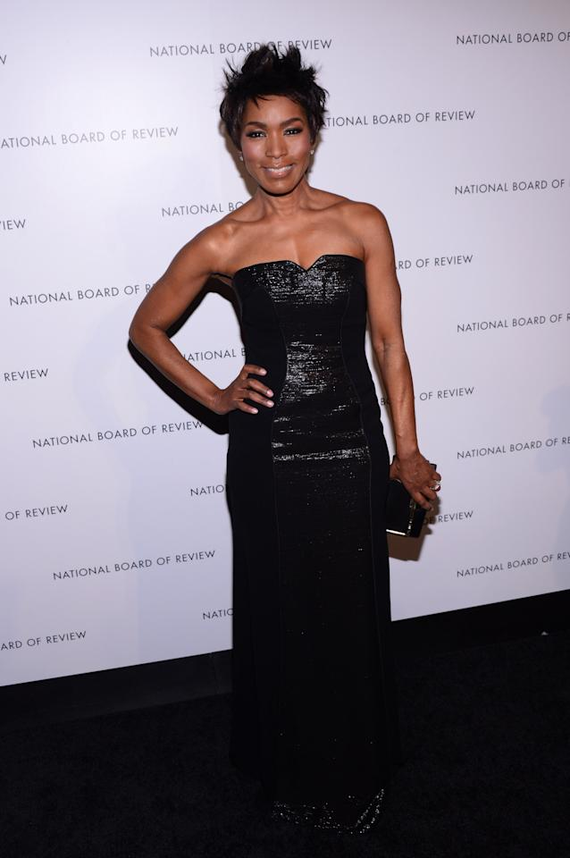 NEW YORK, NY - JANUARY 08: Actress Angela Bassett attends the 2013 National Board Of Review Awards at Cipriani 42nd Street on January 8, 2013 in New York City.  (Photo by Stephen Lovekin/Getty Images)