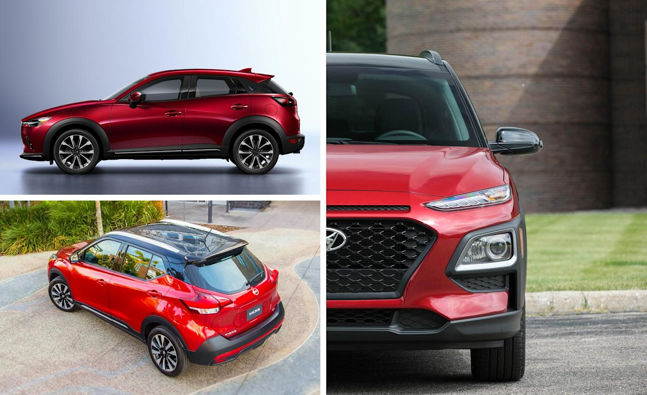 "<p>The popularity of crossovers and SUVs isn't slowing down, as evidenced by the vehicle types popping up in every size and at every price point. Need something tall and small? A subcompact crossover might just be what you're looking for. These are the least-expensive crossovers you can buy, situated below <a href=""https://www.caranddriver.com/features/g15380025/best-small-compact-suv-truck/"" target=""_blank"">compact crossovers</a>, and they are all based on everyday small car platforms. Some don't even offer all-wheel drive, and many don't offer much interior or cargo room. But they do have the look, with rugged-adjacent body cladding, plus that must-have tall seating position. To get a baseline on the current offerings, we've ordered the segment by goodness, starting with the worst and ending with the best.</p>"