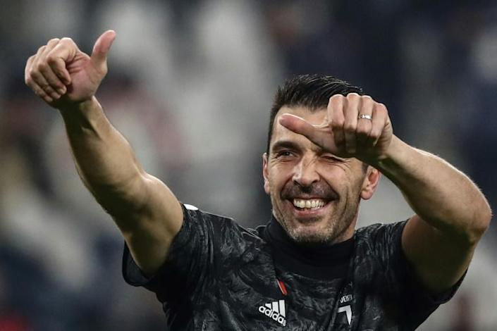 Over 1,000 games for Gianluigi Buffon (AFP Photo/Isabella BONOTTO)