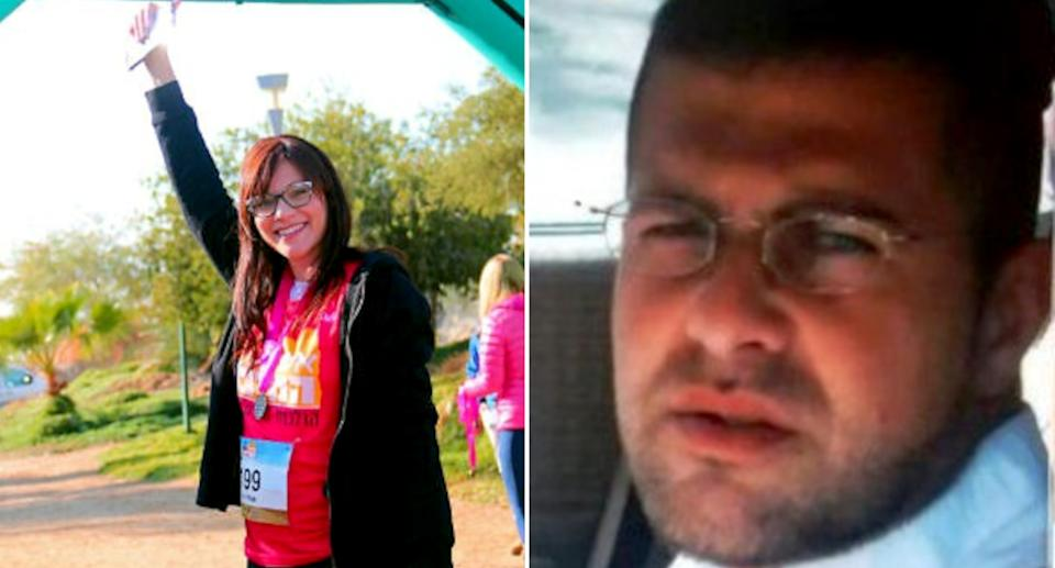 Orly Vital (left) wants to divorce from husband Ronen (right) in Israel.