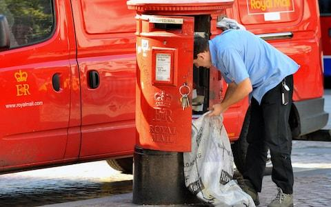 Royal Mail - Credit: Ian Nicholson/PA