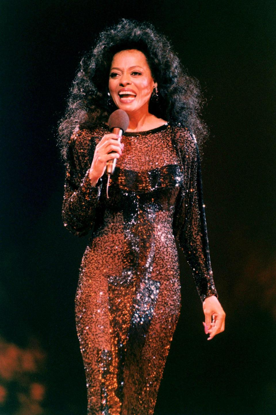 <p>Shimmering in a 1994 performance in The Netherlands.</p>