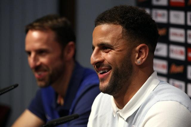 Southgate revealed he had spoken to Kyle Walker about returning to the England squad as early as March.