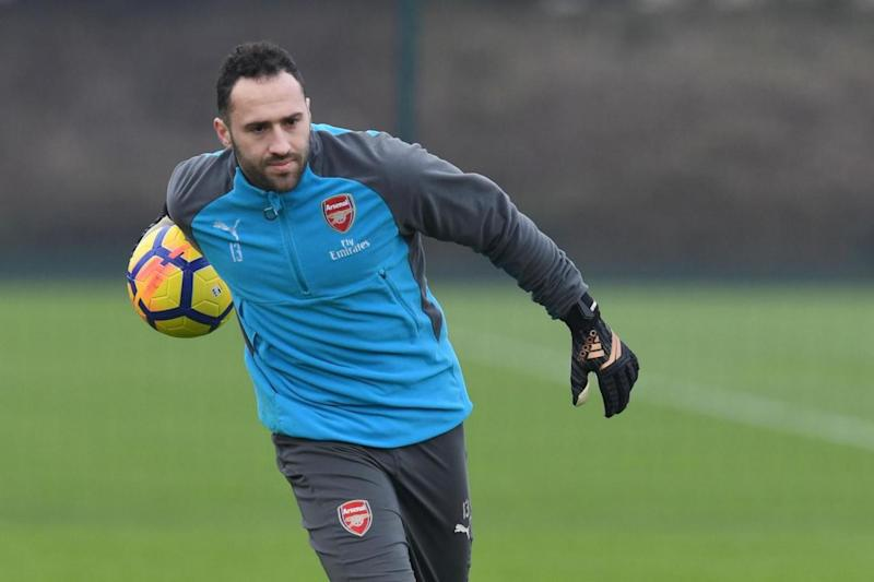 Ospina could take Cech's job on a more regular basis (Arsenal FC via Getty Images)
