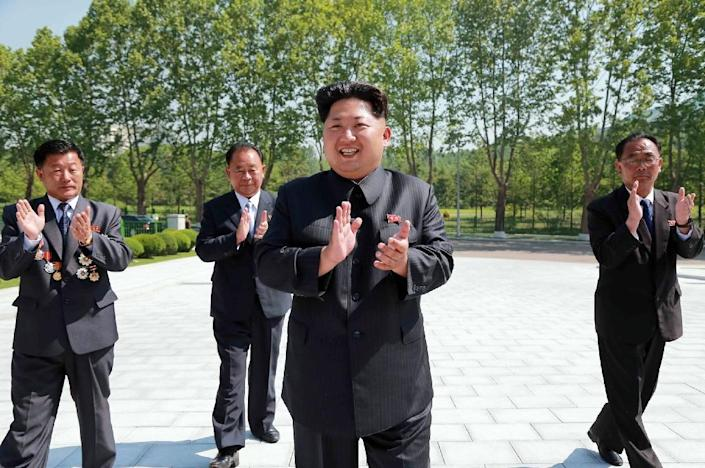 North Korea claims it has developed long-range missiles capable of hitting the US, but many experts say Pyongyang is still years away from obtaining intercontinental ballistic missile capability (AFP Photo/KNS)