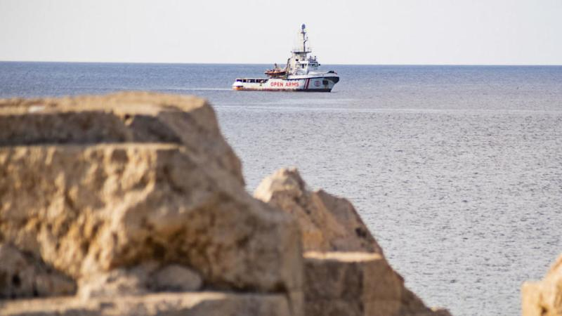 Rescue ship stuck off Italy rejects Spain port offer due to 'extreme humanitarian emergency'