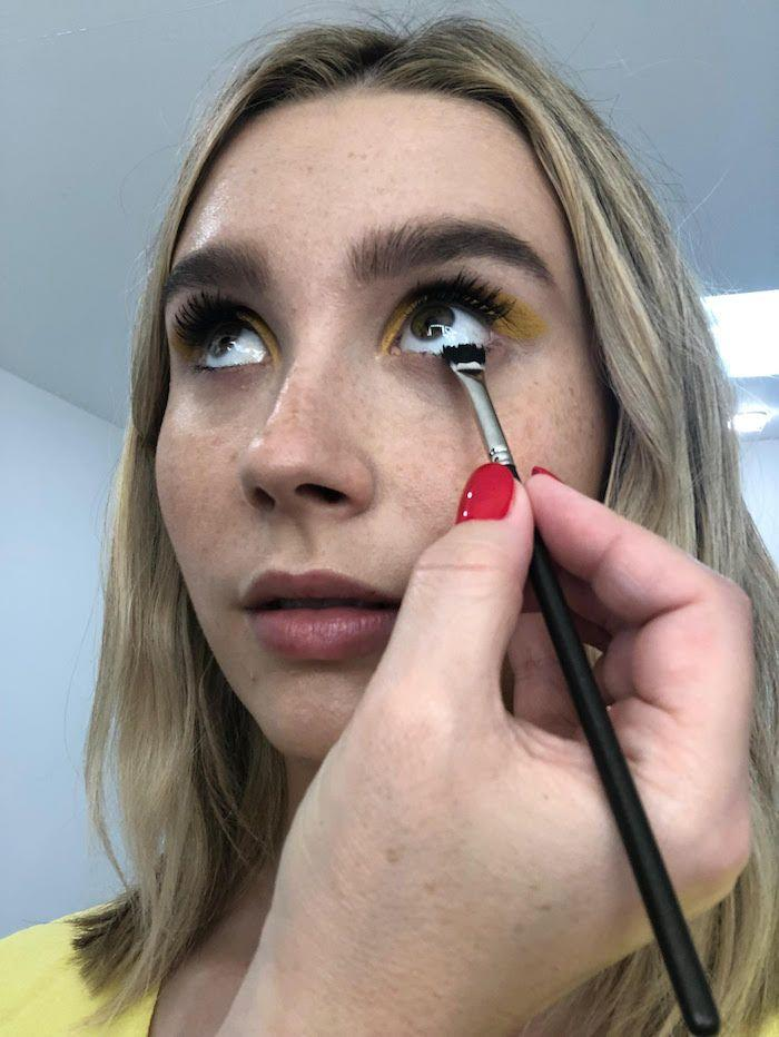 f16d48f5b4c Pro Tip #1: Use a small fan brush instead of the included mascara spoolie.