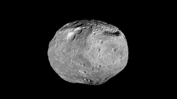 As NASA's Dawn spacecraft travels to its next destination, this mosaic synthesizes some of the best views the spacecraft had of the giant asteroid Vesta. Dawn studied Vesta from July 2011 to September 2012.