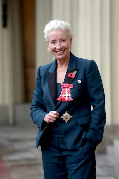 <p>The actress was made a dame in the investiture ceremony at Buckingham Palace.</p>