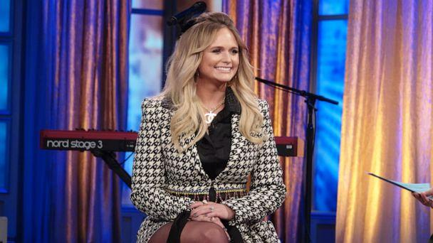 PHOTO: Singer Miranda Lambert talks about her new album and marriage on 'The View' Friday, Nov. 1, 2019. (Nicolette Cain/ABC)