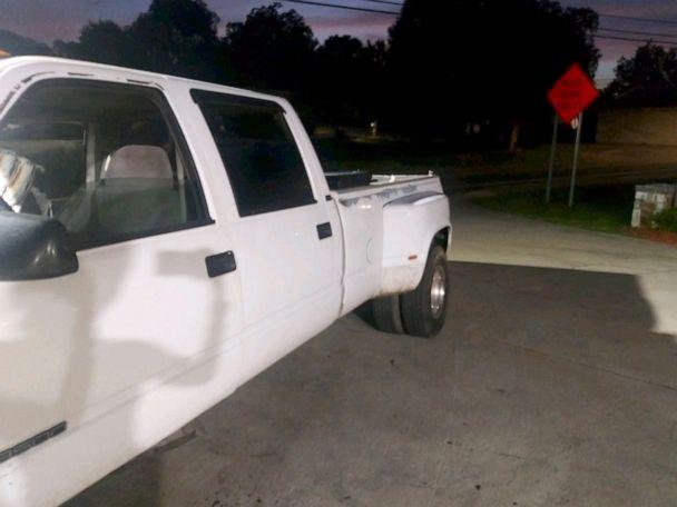 PHOTO: Police are looking for Leila Cavett who was last seen driving this white Chevy 3500. (Miramar Police Department via Twitter)