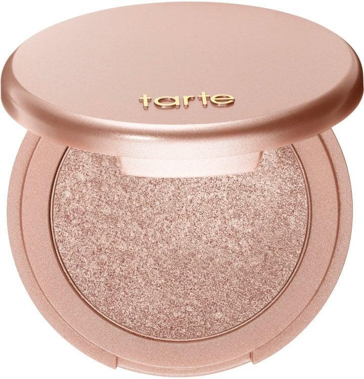 <p>This <span>Tarte Amazonian Clay 12-Hour Highlighter</span> ($29) is ultra flattering on darker skin tones. Just apply a few swipes and it will last all day long. </p>