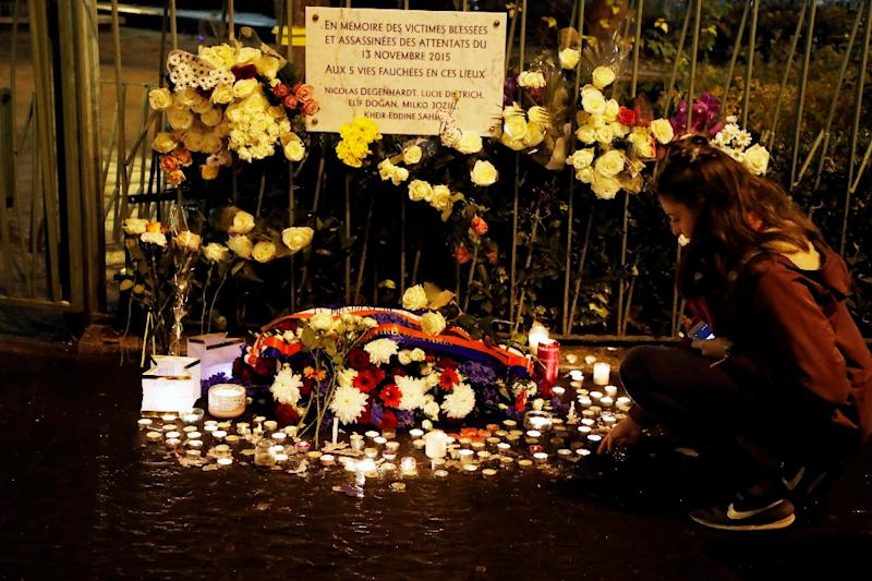 Paris marks first anniversary of terror attacks with somber moment of silence