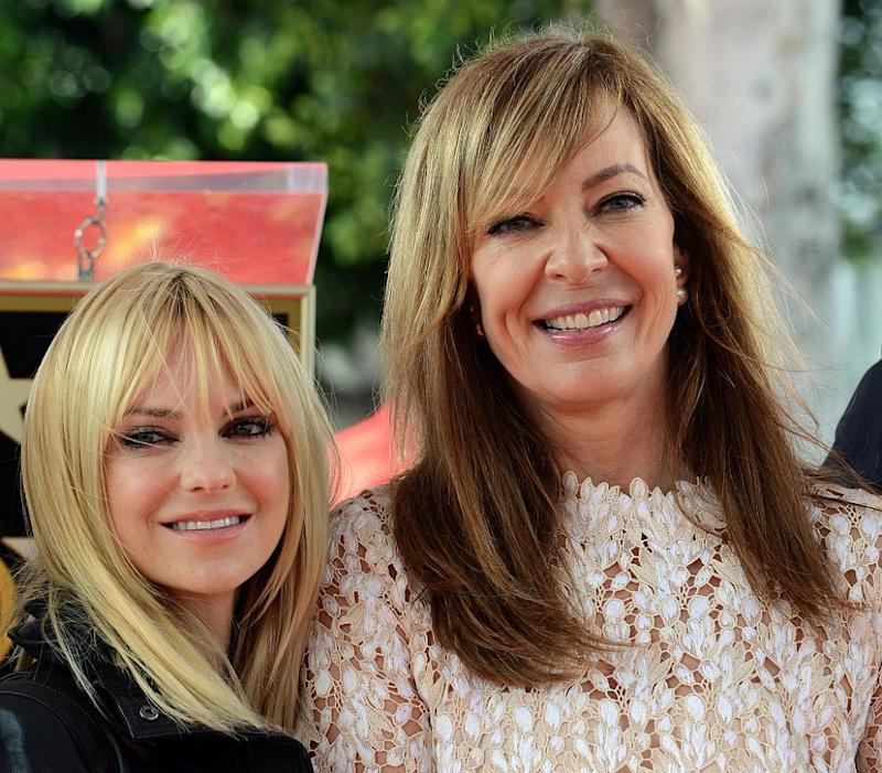 Allison Janney confirmed Anna Faris is dating someone new