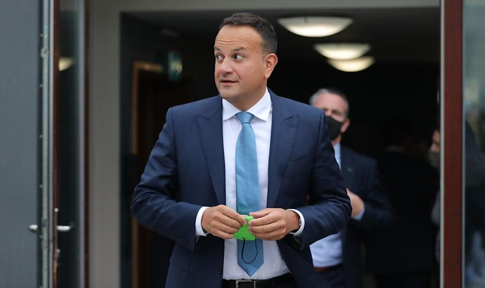 Fine Gael Leader Leo Varadkar said Ireland will be able to operate two tax rates (Niall Carson/PA) (PA Wire)