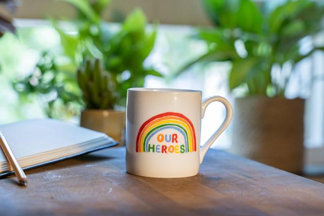 John Lewis' Rainbow NHS Charities Together is back in stock after it sold out in two days. (John Lewis)