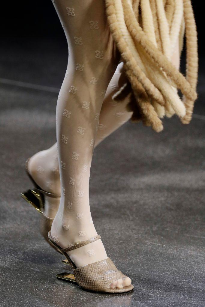 Sandals from Fendi's Fall 2021 collection.